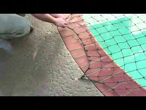 How to Put on Pool Safety Net Covers: All-Safe Pool Nets