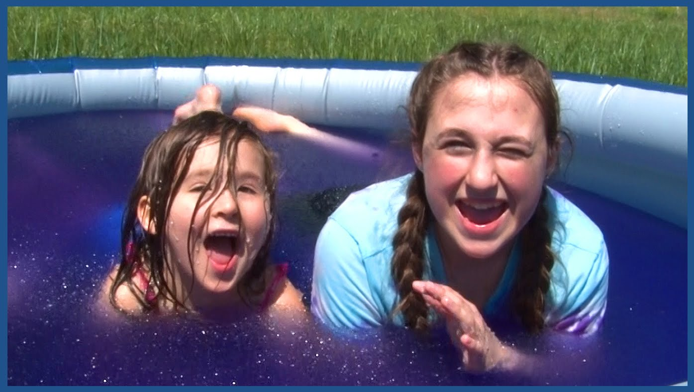 Kids Gelli Baff Bath Fun in The Swimming Pool – Girls Slime Water