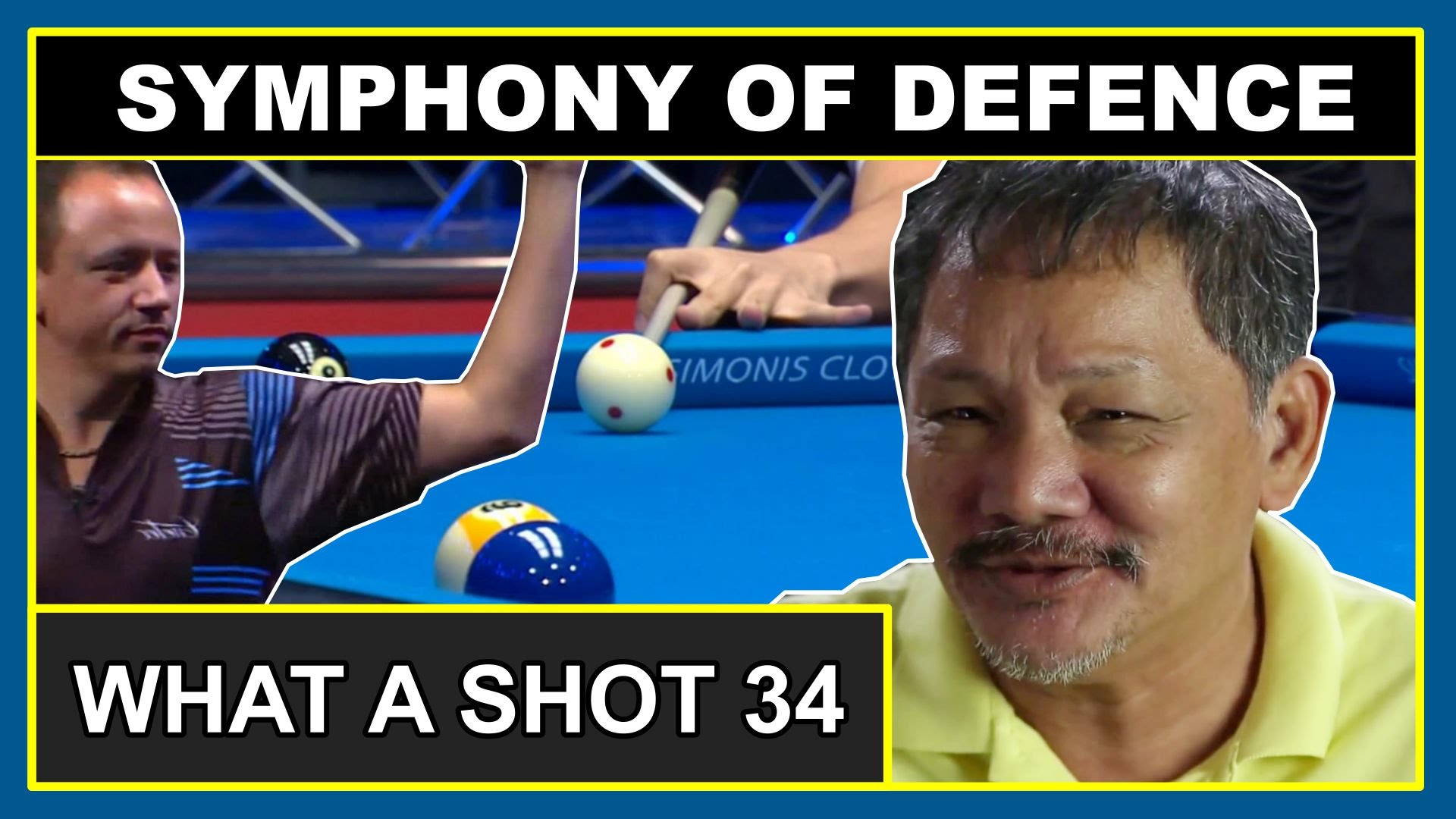 Symphony of Defence | What A Shot! 34 (Safety Pool Shots Compilation) genipool14 cut