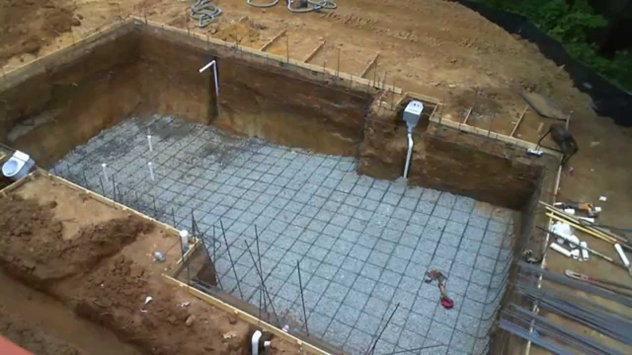 Inground swimming pool building process – step by step