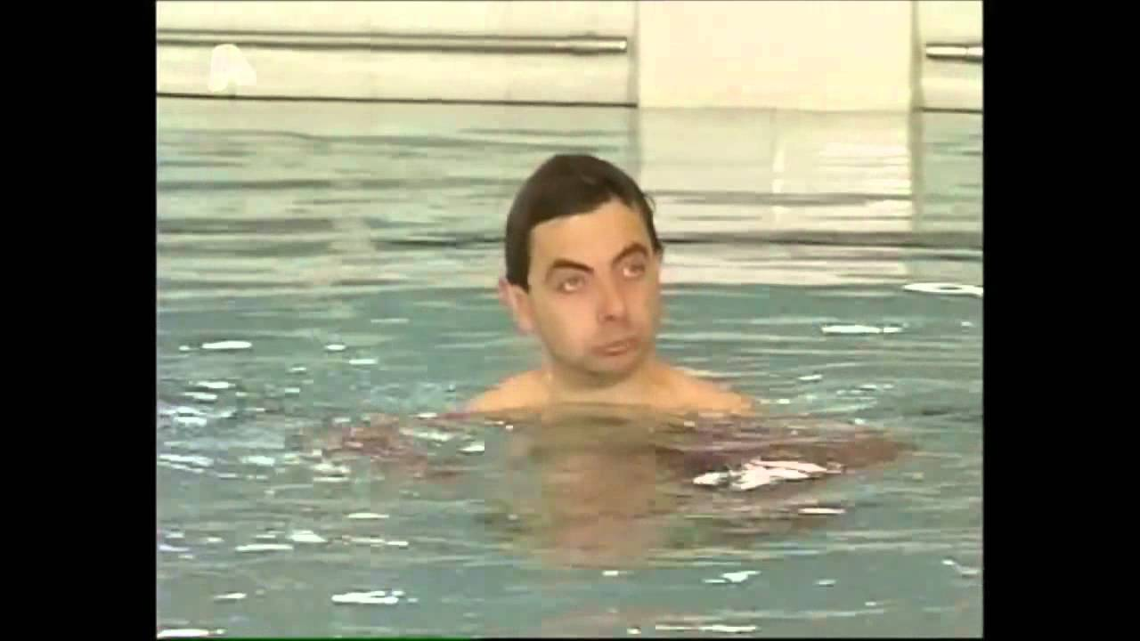 Mr Bean Swimming Pool HD