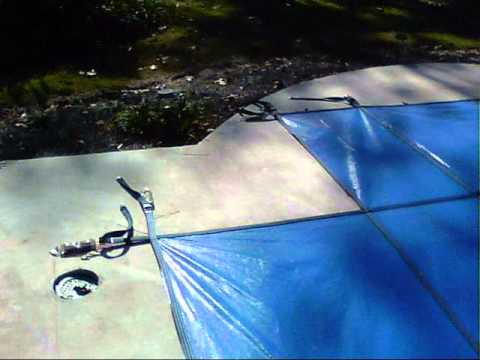 DIY Safety Pool Cover Installation