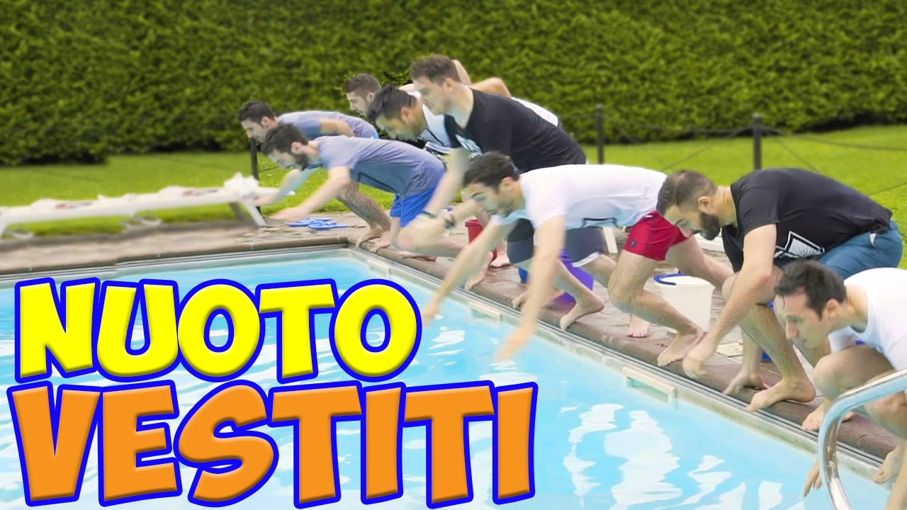 SWIMMING POOL CHALLENGE VESTITI!! w/ IlluminatiCrew