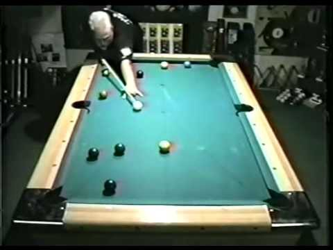Pool lessons. Safety play for 9 ball and 8 ball