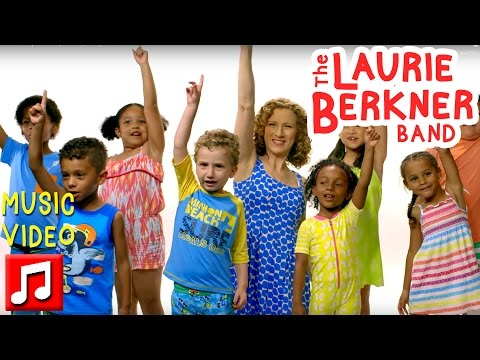 """Pool Safely: 4 Simple Steps"" by Laurie Berkner – Kids Learn To Be Safe Around Water!"