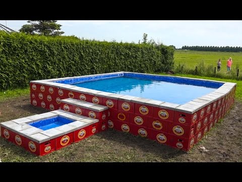 WE BUILD OUR OWN SWIMMINGPOOL!