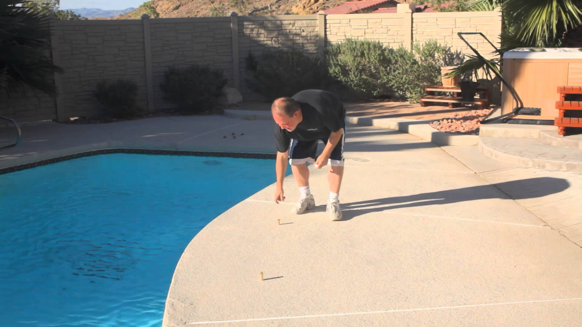 Pool Safety Cover Installation : Pools & Spas