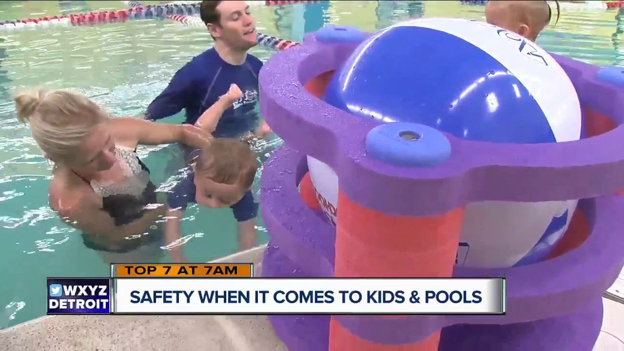 Teaching kids pool safety for the summer